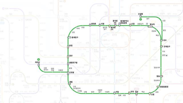 지하철노선도 크게보기 서울 부산 전철 지도 시간표 확인
