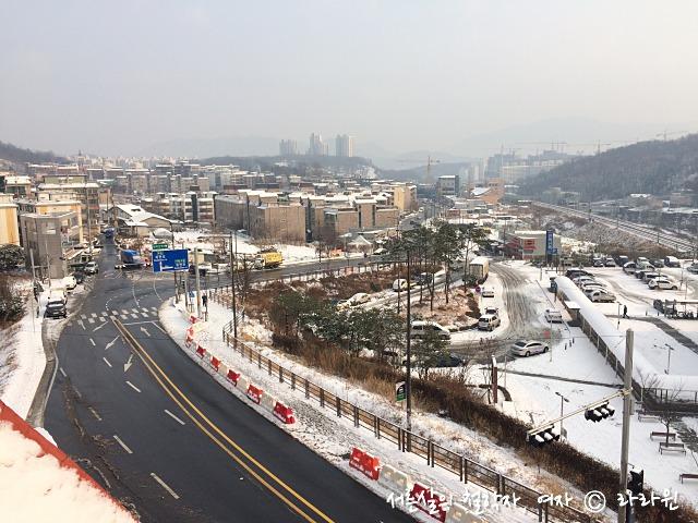 남양주 눈오는날