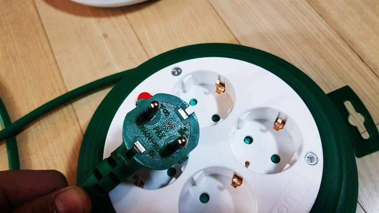 멀티탭 전기릴선, 4구 멀티탭, 러그 스타박스,멀티탭추천,캠핑릴선,멀티탭연결,4구 릴선