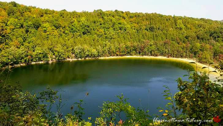 뉴욕 주 Green Lake입니다