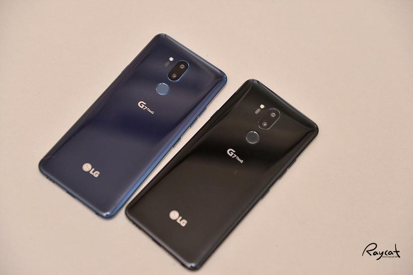 LG G7 씽큐 블루 V30 블루, G7 블랙과 컬러 비교.
