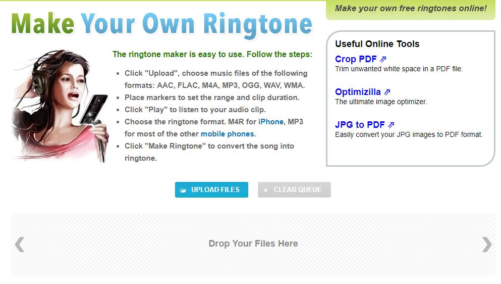 아이폰용 벨소리 만들기 사이트 ringtonemaker