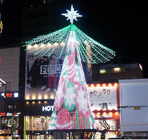부산 남포동 트리축제