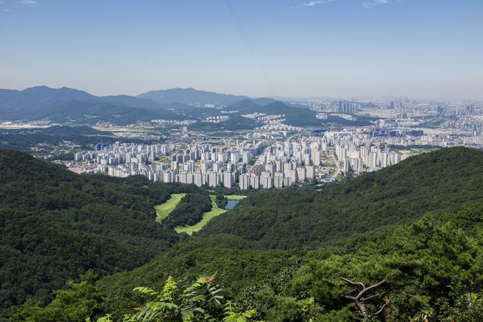 남한산성, 위례신도시