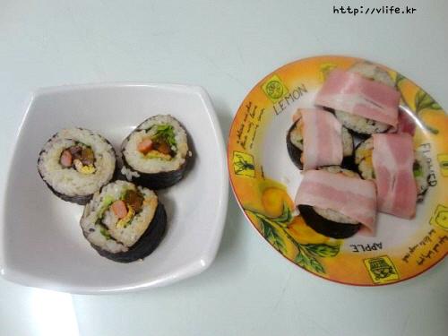 구운 김밥