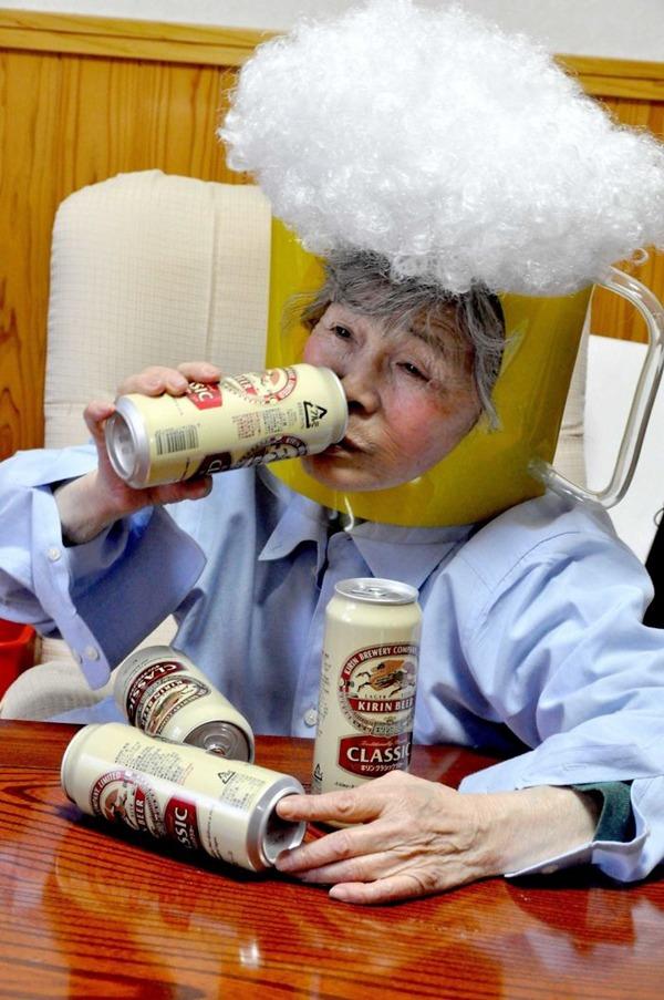 일본의 엽기 사진 전문 할머니3