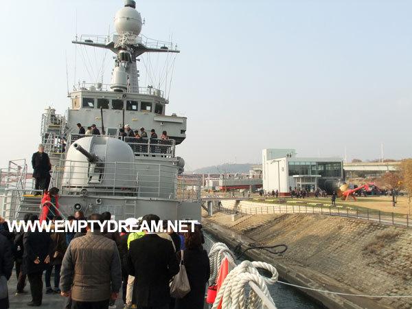 서울함공원 개장 - 한강에서 구경하는 해군 호위함, 고속함, 잠수정