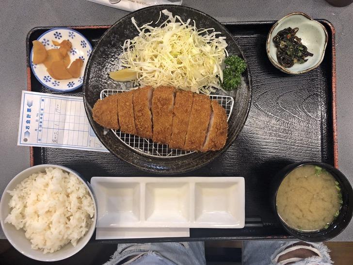 [가고시마맛집] 가고시마 흑돼지로 만든 맛있는 돈까스 《카와큐(とんかつ川久)》 (평점 ★★★★☆)