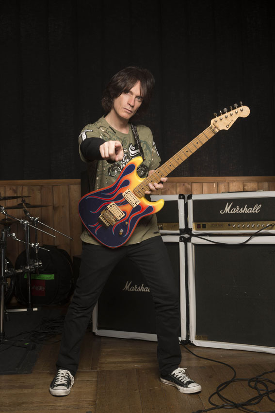 Chris Impellitteri. Photo By Alex Solca