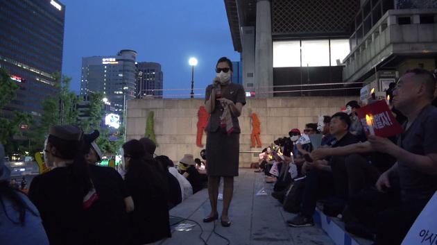 [영상] 아시아나 승무원들, 눈물의 폭로 현장