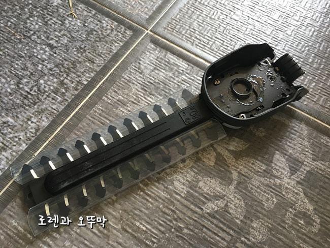 충전식 잔디깍는 기계(가데나 8895 comfortcut)4