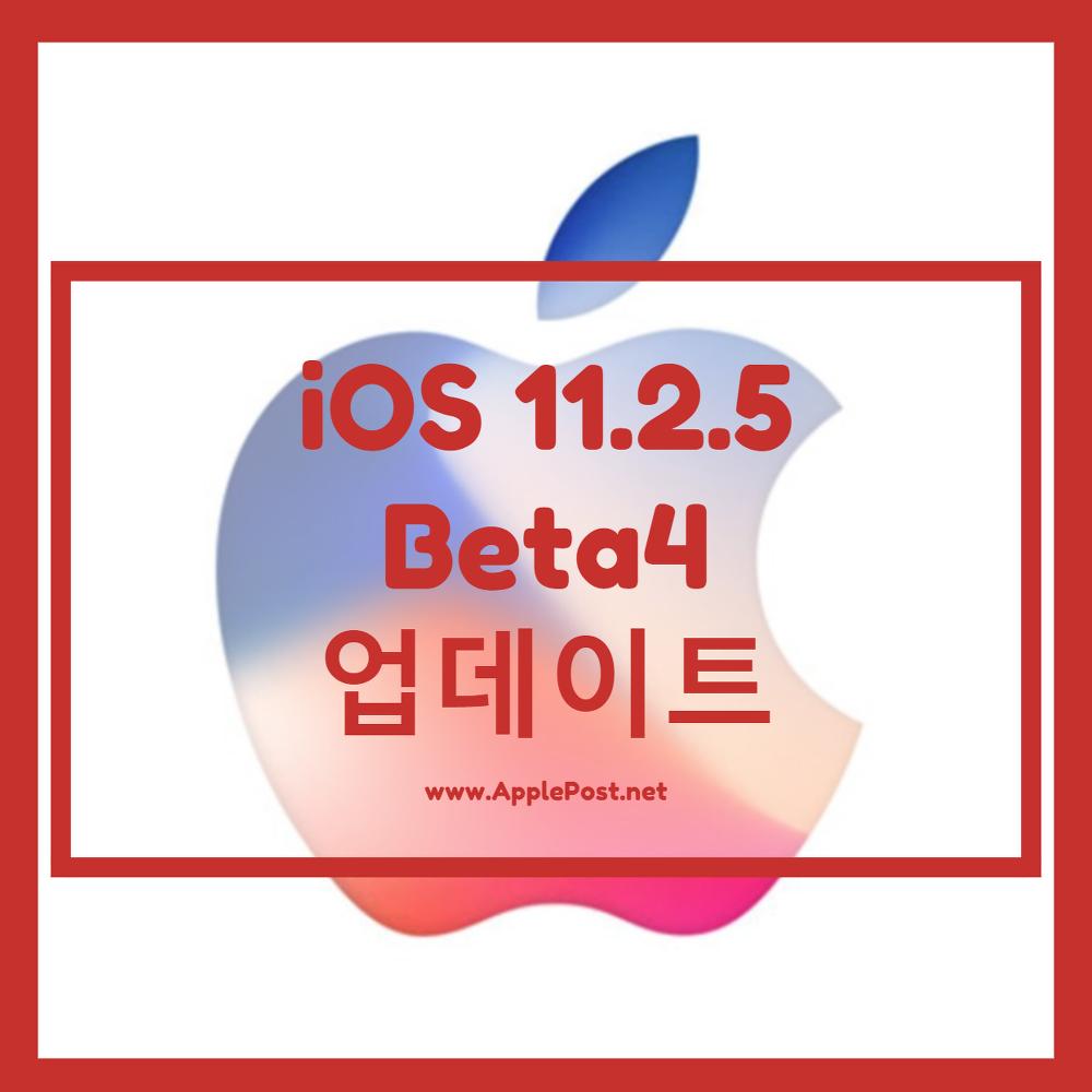 ios 11.2.5 beta4