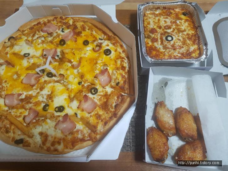 피자샵 피자 세트